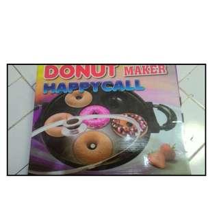 Cetakan Kue Donut Maker Bisa Pakai Kompor Gas Anti Lengket Import