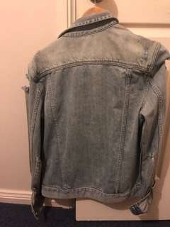 Denim industry jacket