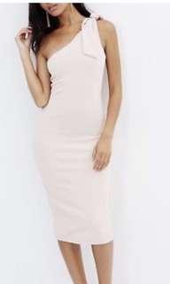 Atmos & Here One Shoulder Dress
