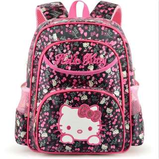 Pre order: S,M,L Hello Kitty School Bag