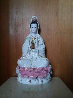 觀世音菩薩陶瓷佛像