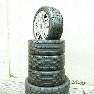 Used 205/45 R16 Dunlop (4pcs) 🙋♂️