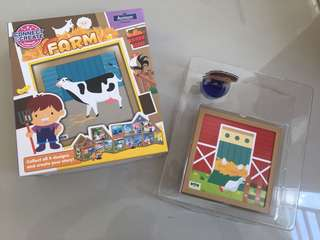 Connect & Create Magnetic Toy Set