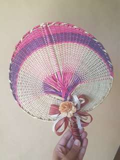 Abaniko / Fan with artistic design