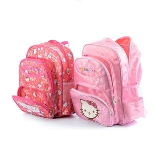 Pre order: S,M,L Hello Kitty School Bag ROSE/PINK