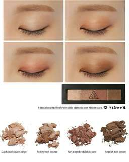 3CE - Eye Shadow Palette #Sienna
