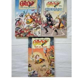 GROO comics set (Dark Horse Books)