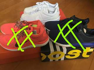 Nike Adidas 出街鞋 跑步鞋 運動鞋