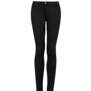 TOPSHOP Jamie Jeans W30L30