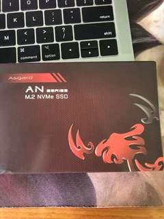 Asgard NVME SSD 256GB/512GB