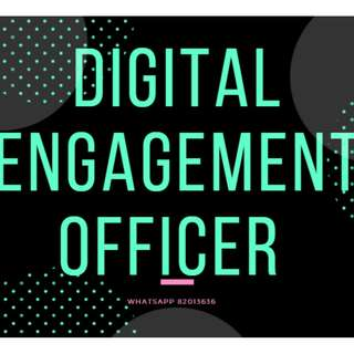 • Digital Engagement Officer (Social Media engagement) • Up to $3500/mth • 1 year contract