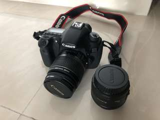 Canon 60D with Kit Lens