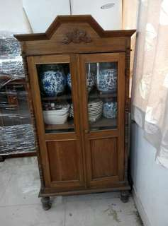 Antique Chinese kitchen pantry cabinet