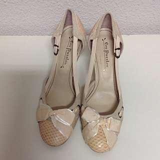Cres Puzzle Feminine Stilettos Heels