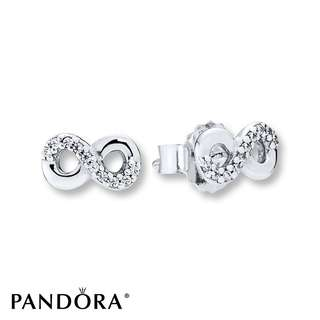 Pandora infinity earrings