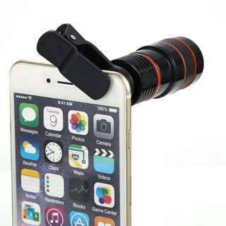 8x zoom Phone lens telescope Optical Magnification
