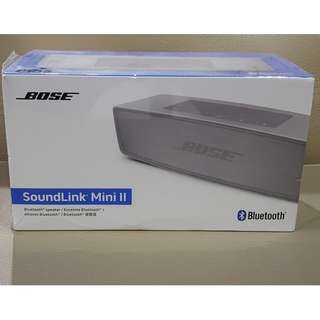 Brand New Original Bose Soundlink mini II