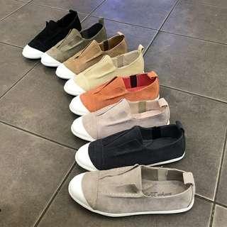 韓國東大門 休閒麂皮絨休閒鞋