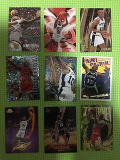 NBA Cards - Dennis Rodman