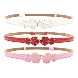 Women Flowering belt 1