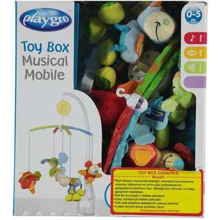 Playgro Toybox Crib Music Mobile