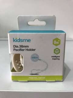 BNIB Kidsme Pacifier Holder