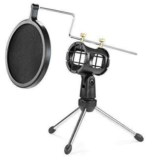 BLUETOOTH MICROPHONE MIC HOLDER F-8