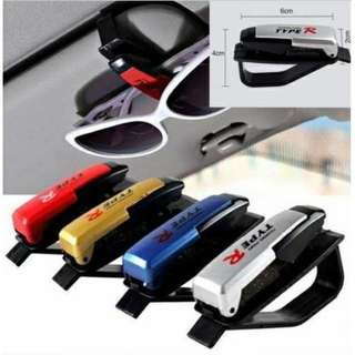 Universal Car Auto Sun Visor Clip Holder For Sunglasses