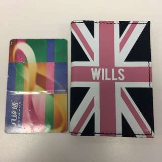 Jack Wills Wadworth Travelpass Holder (Pink U Jack)