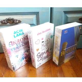 BN Novels (Malay) AkadKuYgTerakhir, SignalHati, FajarDiBukhari