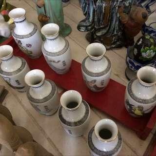 8 immortals  image vases