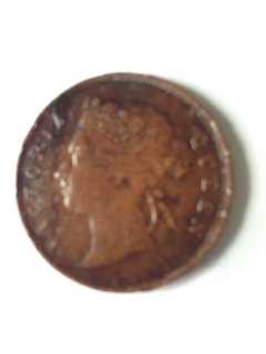 1897 Straits Settlements 1 cent