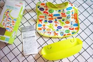 現貨✨ Combi日本限定Disney版嬰兒防油污食兜