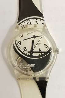 全新 Swatch 罕有 型格 移位款式手錶