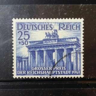 [lapyip1230] 納粹德國 1941年 柏林格蘭披治大賽車 舊票全套 Set VFU