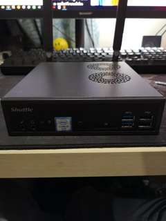 Shuttle DH 110 with i5-6400