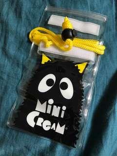 Mini cream 防水電話袋