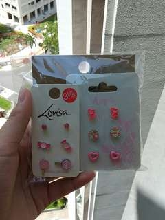 PRICE REDUCED!! Assorted earrings+Wristbands/Bracelets