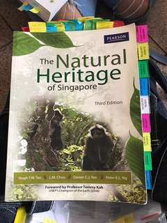 GES1021 the natural heritage of Singapore
