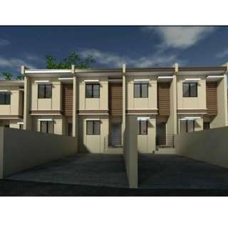 New Townhouse For Sale At Tres Hermanas Subd. Antipolo City