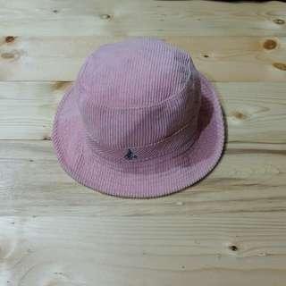 Topi Bucket /Bucket hat Bean Pole Pink (Second Original)
