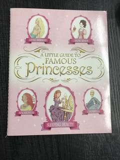 A little guide to famous princess