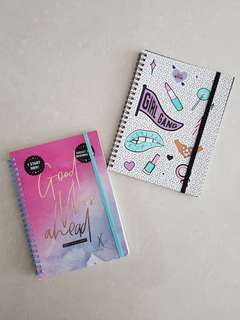 Typo Lined Notebook & 2018 Weekly Planner