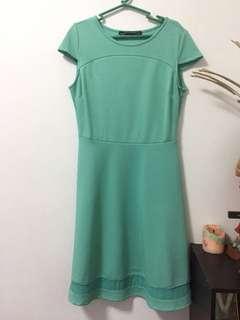 Petit Monde Dress-Mint Green