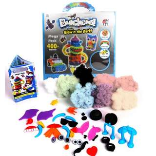 Bunchems Glow In The Dark Mega Pack (400+ pieces)