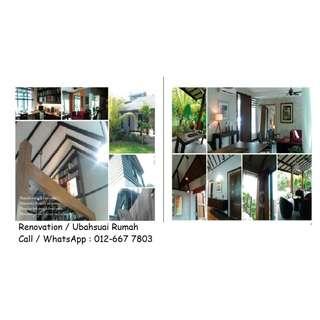 Renovation House & Office / interior Design