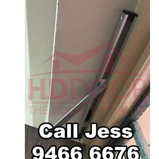 HDDoor the door closer and slide arm with install