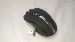 T- Wolf Wireless Mouse Matte Black with 2 AAA Batteries