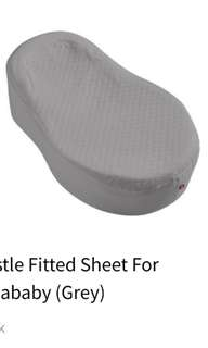 Fitted sheet for Cocoonababy (grey)