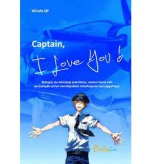Ebook Captain I Love You! - Winda DF